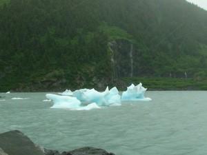 Portage Glacier remains
